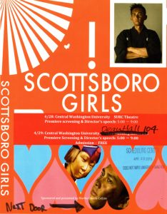 Scottsboro Girls CWU Poster